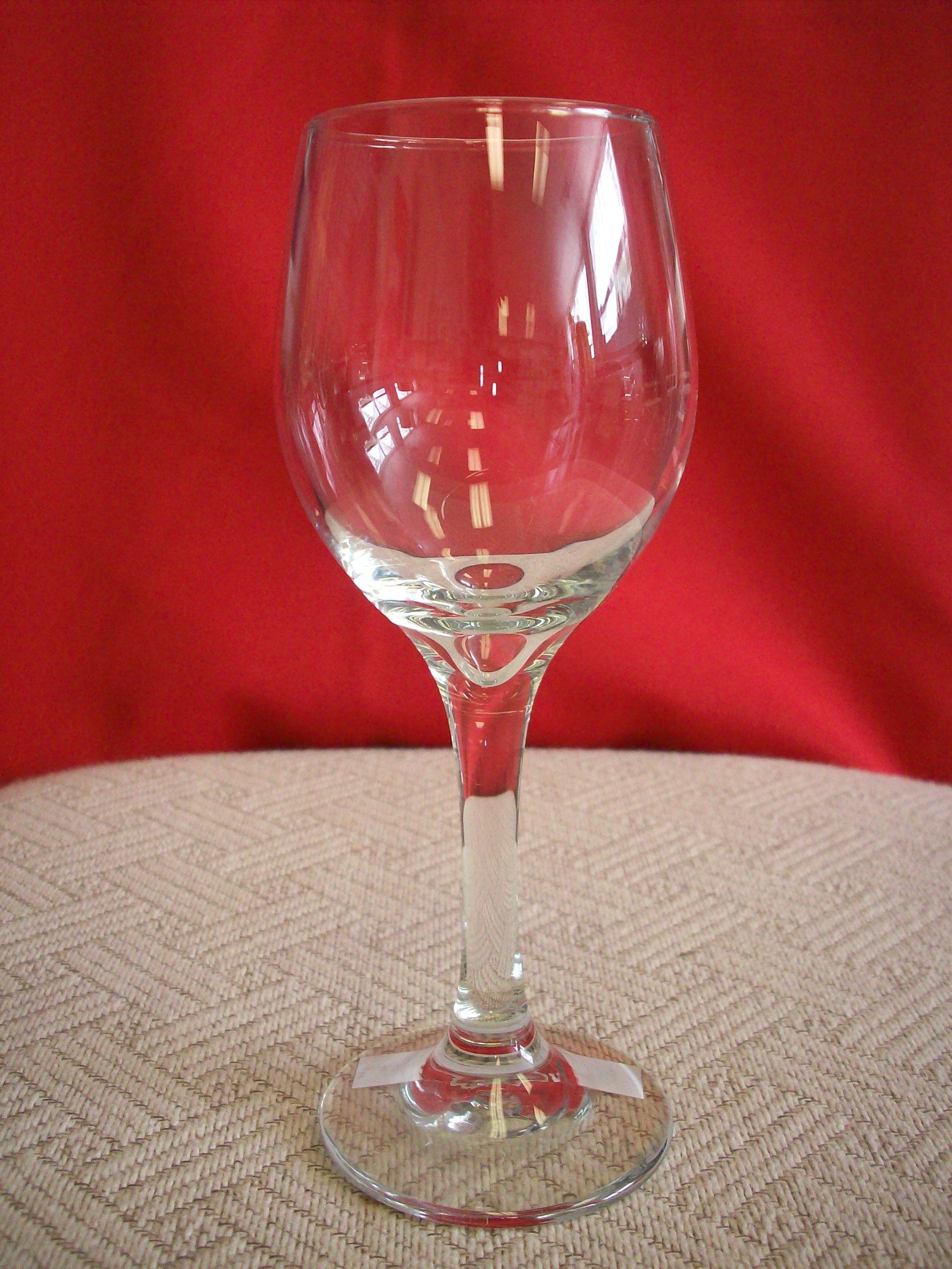 Red Wine Glass 8 Oz Roland L Appleton Inc