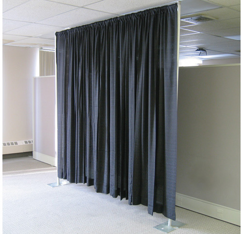 pipe drape black 2