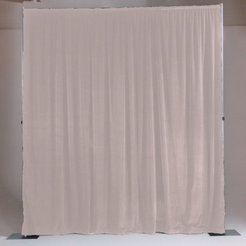 pipe drape white