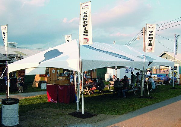 50 person tent package & 50 person tent package | Roland L. Appleton Inc