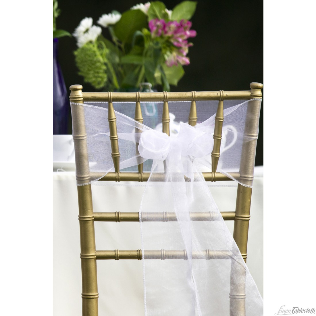 chair sash organza white 01