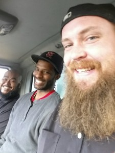 Our friendly road crew