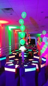 Neon Centerpieces